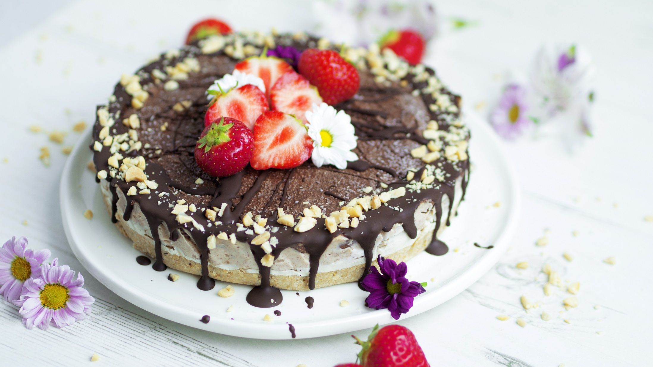 National Peanut Butter Day recipe – here's how to make a raw peanut butter chocolate cheesecake