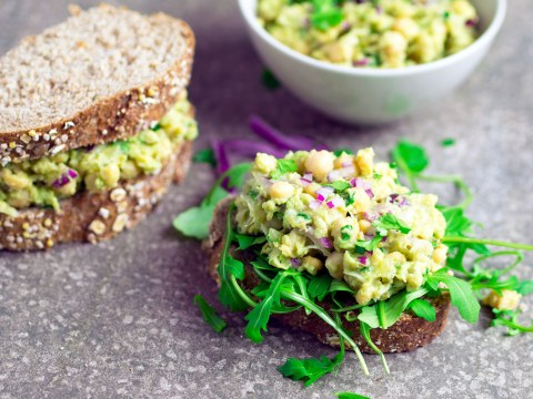 Vegan recipe video: Here's how to make chickpea avocado sandwiches