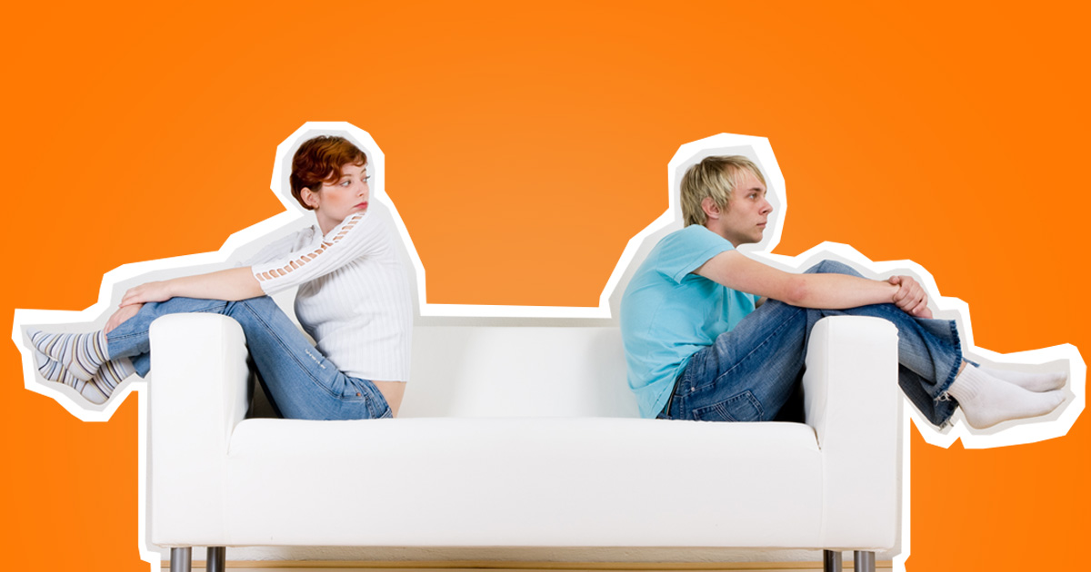 Don't let made-up rules keep you away from people you really care about (Picture: Shutterstock/ Metro)