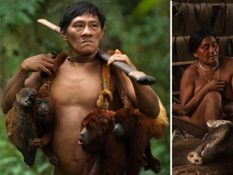 Incredible photos of Ecuadorian tribe, whose lifestyle is threatened by oil exploration