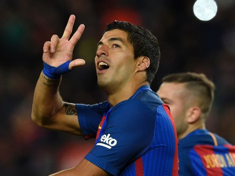 Luis Suarez reaches 100 goals for Barcelona – but two players beat him to the same milestone