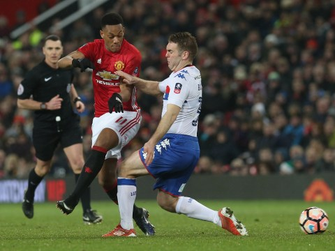 Back to the bench! Jose Mourinho confirms he will drop struggling Manchester United star Anthony Martial AGAIN