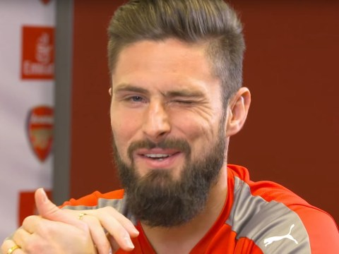 Arsenal star Olivier Giroud claims Lukas Podolski is the 'hardest' team-mate he's ever played with