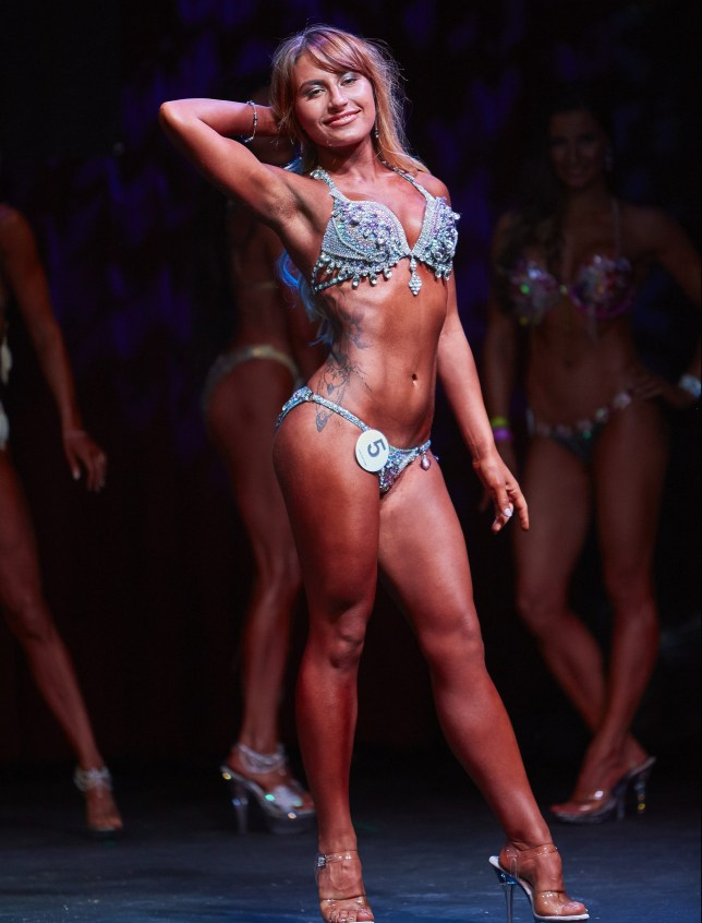 On the Miss Galaxy Universe stage, July 16th 2016, where I won 1st place Beach Body Picture: Lowell M / Galaxy Universe Organisation)