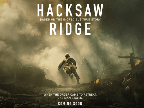 Competition: Win a Hacksaw Ridge poster signed by Andrew Garfield
