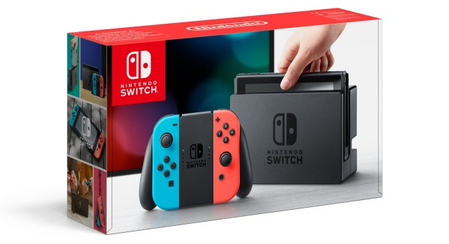 Nintendo Switch console box