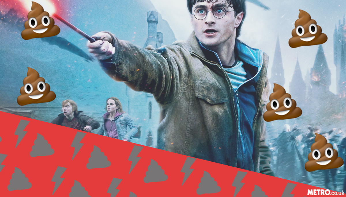 Witches and wizards in JK Rowling's universe used to poo themselves on the spot