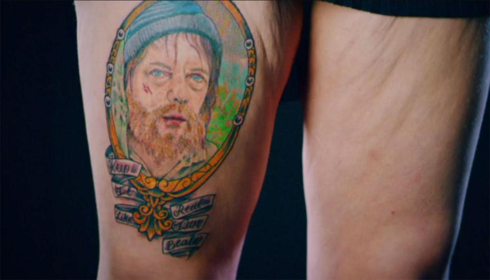 EastEnders superfan with homeless Ian Beale tattoo turned up on Tattoo Fixers – to make it even funnier