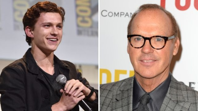 Tom Holland and Michael Keaton star opposite each other in Spider-Man: Homecoming (Picture: Getty/FilmMagic)