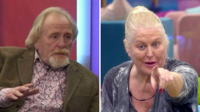 Celebrity Big Brother: James C flips out at Kim Woodburn over a chocolate bar