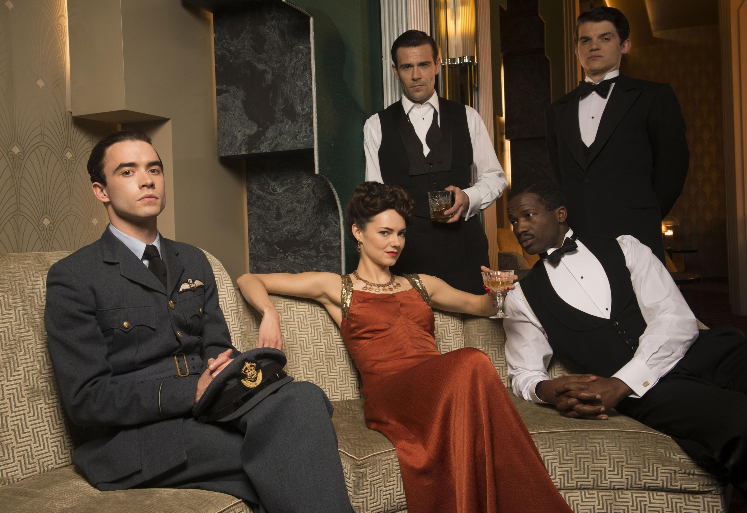 The Halcyon gets rave reviews as it's branded the 40s Downton Abbey (but better)