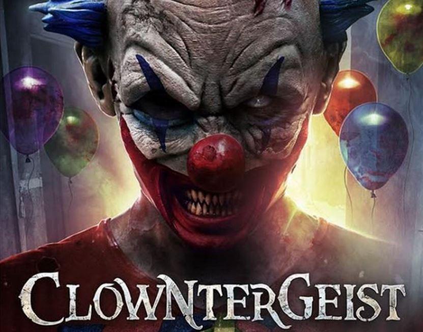 There's a dodgy horror film coming called Clowntergeist — and the trailer delivers the goods