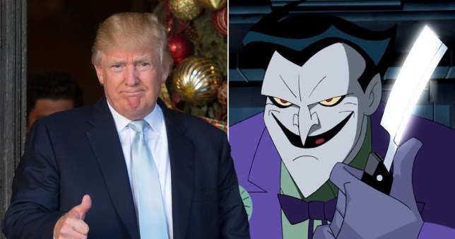(Picture: Getty/ DC) Mark Hamill has been reading Donald Trump tweets in the style of The Joker