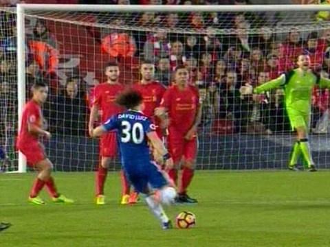 Liverpool's Simon Mignolet explains why he didn't react to David Luiz's free-kick