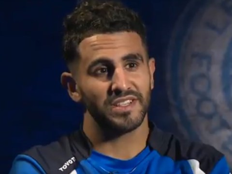 Riyad Mahrez reveals he used to watch Chelsea because of Didier Drogba