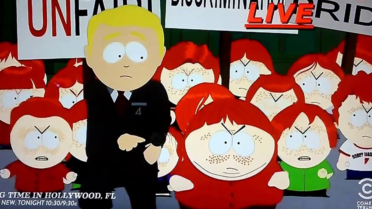 The creators of South Park think real life has become satire (Picture: Fox)