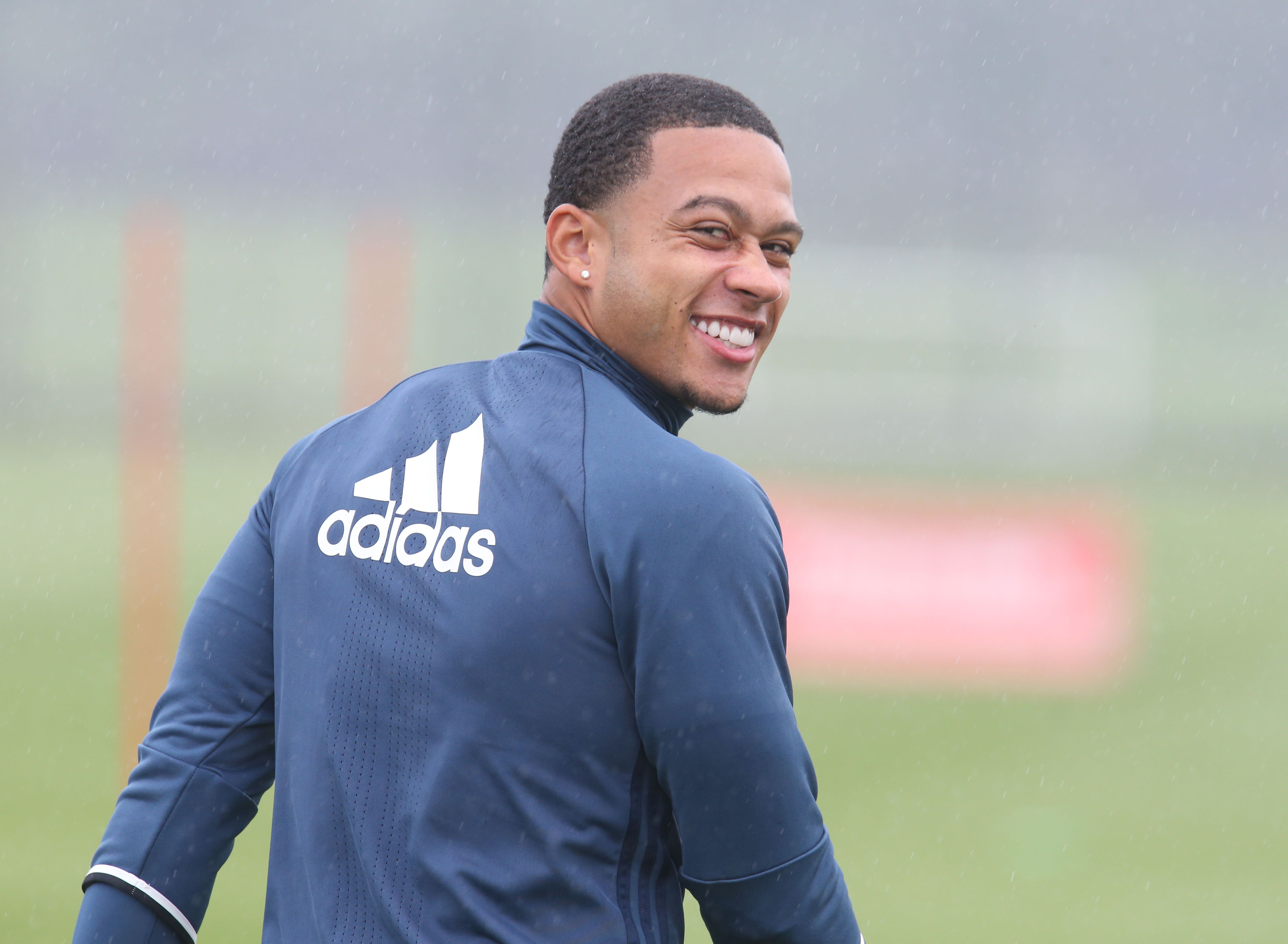 Manchester United legend Patrice Evra could be set to follow Memphis Depay to Lyon