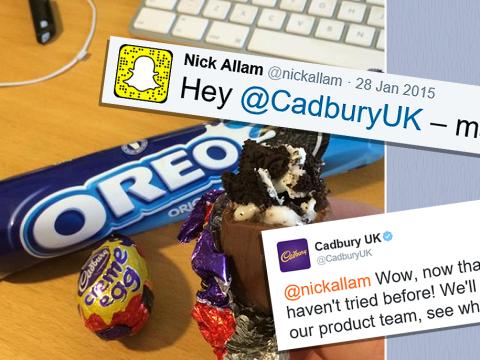 Man claims Cadbury nicked his 'Oreo Creme Egg' idea