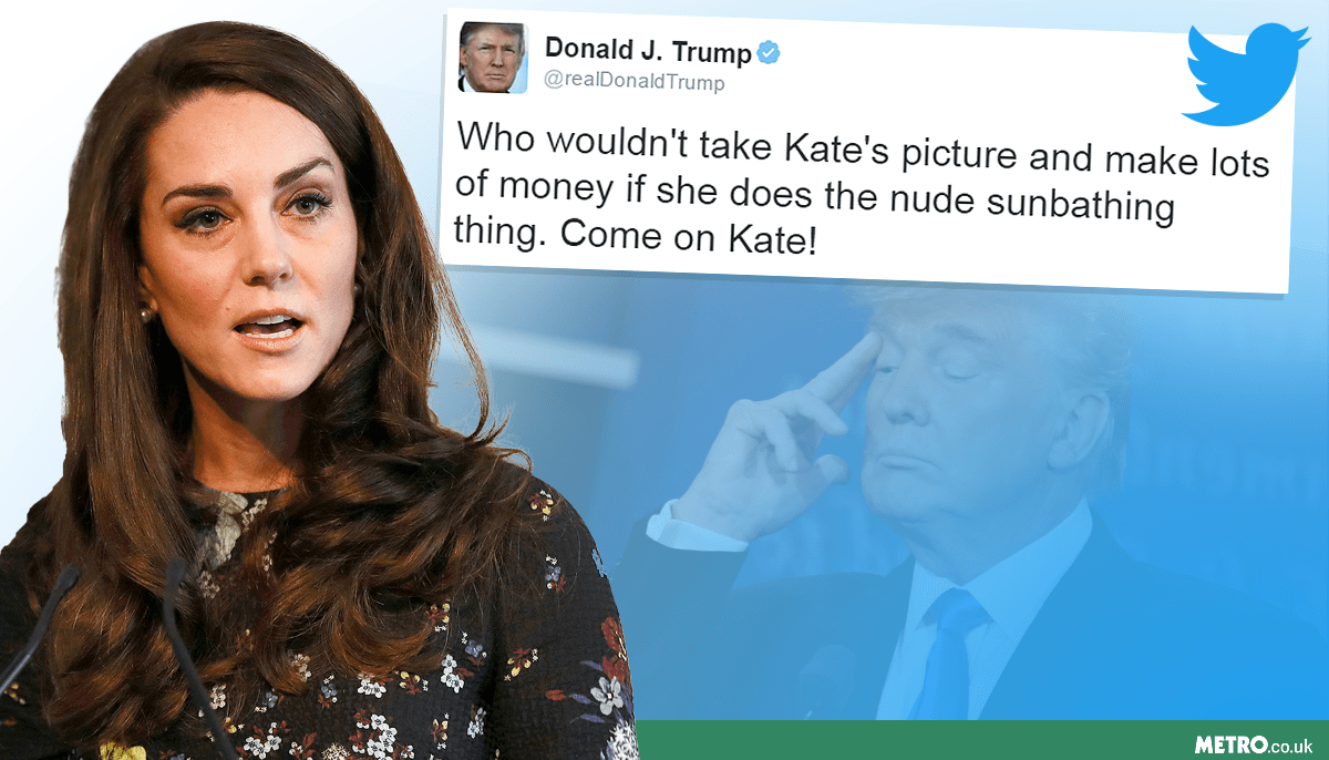 Will the Royal Family want to host Trump after they see this tweet? Picture: REX / Getty - Credit: METRO/MylesGoode