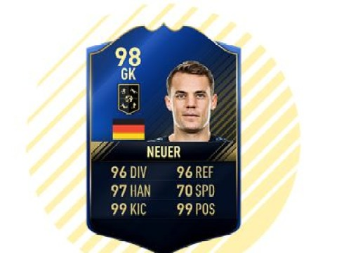Enhanced FIFA 17 Ultimate Team defenders released after Team of the Year awards, including sensational Manuel Neuer