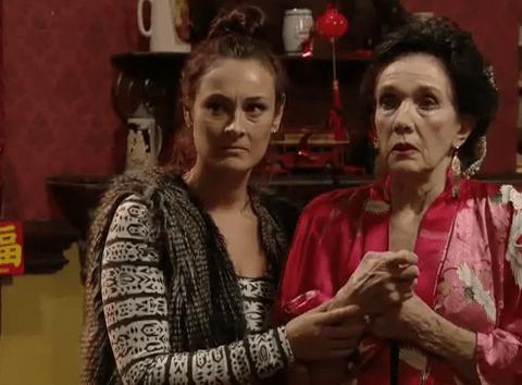 EastEnders spoilers: Sylvie's racist routine leaves the Carters in hot water