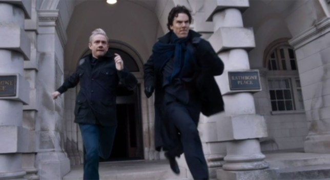 Might this end up being the final ever shot of Sherlock? (Picture: BBC)