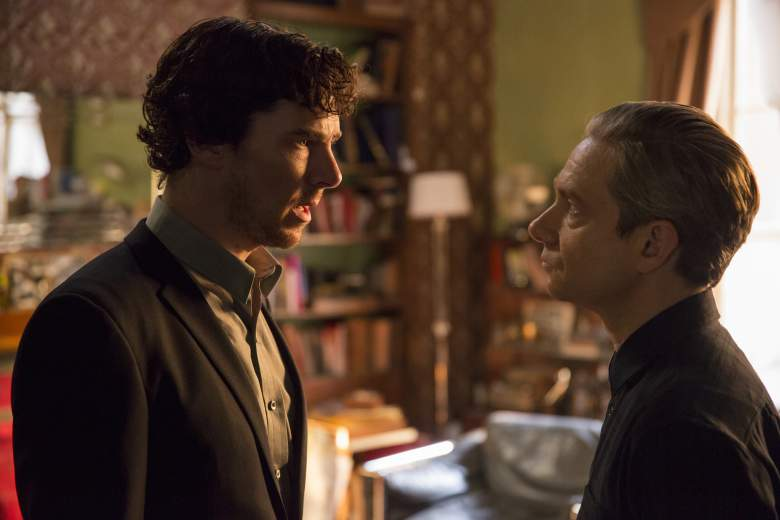 Sherlock and Watson were forced to mend their broken friendship (Picture: BBC)