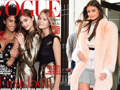 Taylor Hill, Anna Ewers, and Imaan Hammam got naked to chat about their careers with Vogue