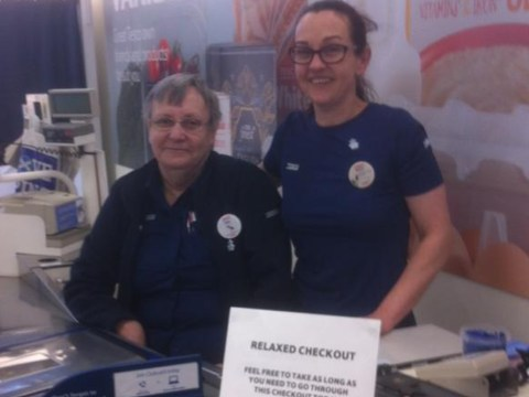 Tesco branch in Scotland open their first 'relaxed checkout' to help customers in need
