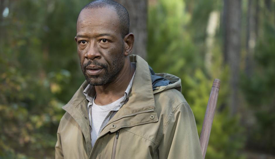 Lennie James as Morgan Jones - The Walking Dead _ Season 5, Episode 16 - Photo Credit: Gene Page/AMC