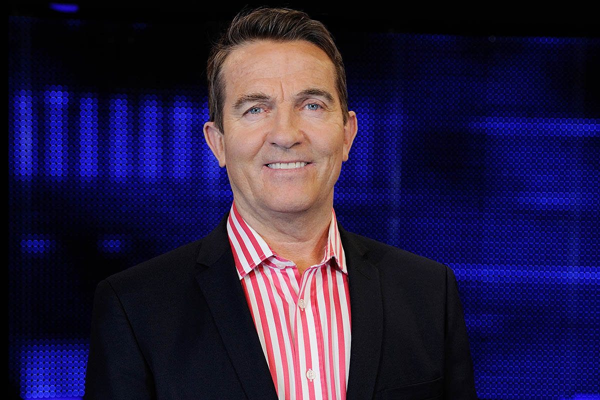 Bradley Walsh reacted like all of us did when he was named the most successful UK artist of 2016