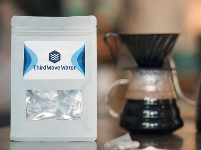 third wave water for making coffee