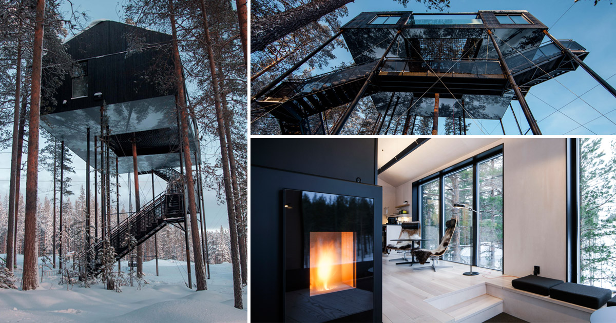 (Picture: Caters News) Amazing treehouse