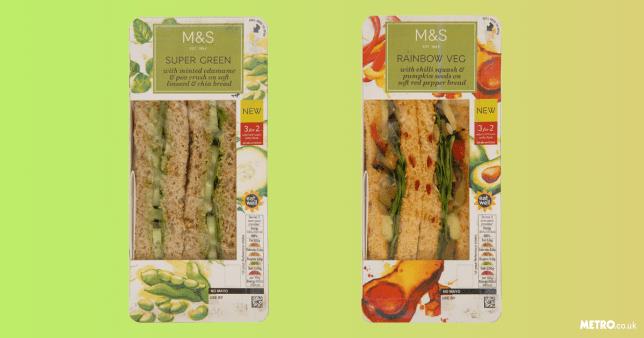 M&S launch vegan sandwiches