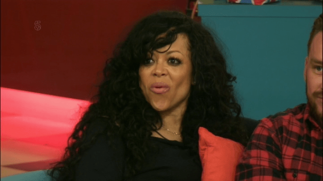 Stacy Francis is up for eviction (Picture: Channel 5)