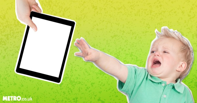 It can be hard to wean children off tech (Picture: Metro.co.uk/Shutterstock) How to wean children off iPads/mobile phones and computers