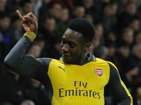 Danny Welbeck channels 'Salt Bae' after scoring on Arsenal return v Southampton