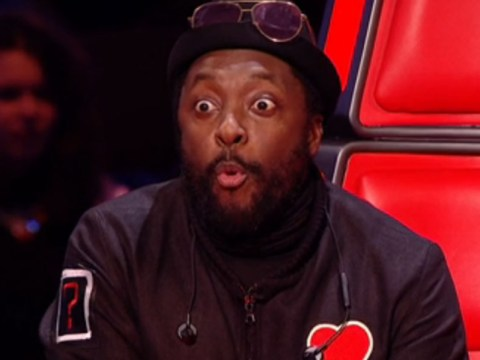 Will.i.am accidentally presses his button on The Voice AGAIN