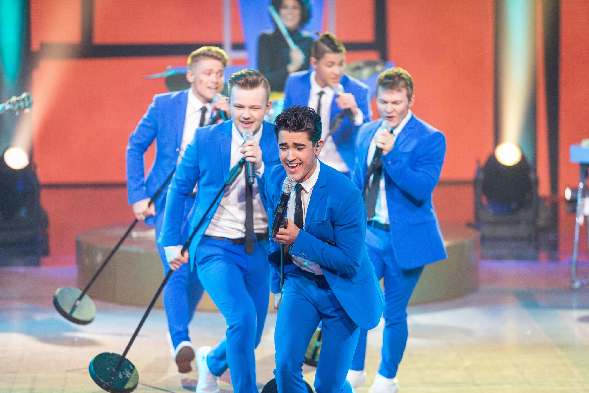 Five To Five won the Gary Barlow talent show (Picture: BBC)