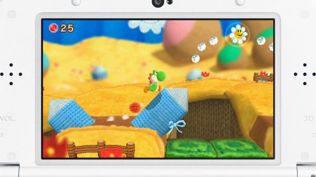 Poochy & Yoshi's Woolly World (3DS) - not a survival horror