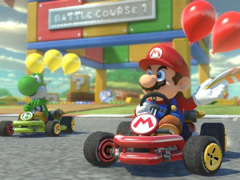 When is Mario Kart 8 Deluxe out on Nintendo Switch, what are the tracks and where can you buy it?