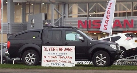 Nissan 4x4s keep splitting in half but they won't issue