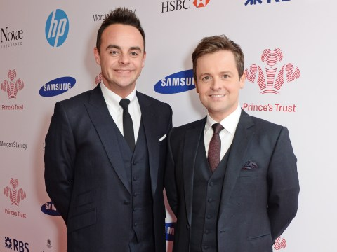 Ant and Dec meet their biggest fan – the man with their faces on his bum