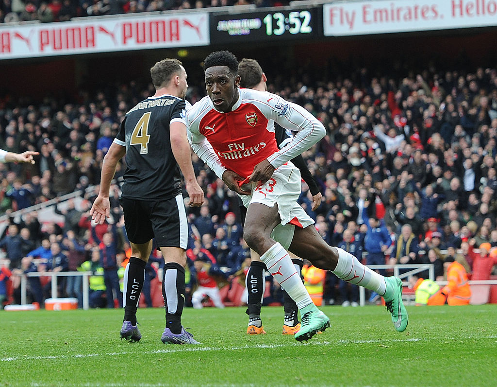 Arsenal Valentine's Day message heralding Danny Welbeck's comeback goal backfires horribly