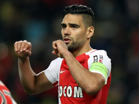 Radamel Falcao ruled out of Monaco's Champions League clash with Manchester City