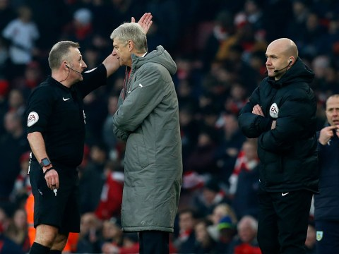 REVEALED: Exactly what Arsene Wenger said to the fourth official that saw him slapped with four-game ban