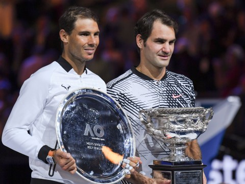 Roger Federer admits he'd love to play with Rafael Nadal at the Laver Cup