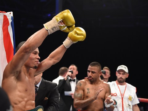Chris Eubank Jnr stops Renold Quinlan to win IBO super-middleweight title
