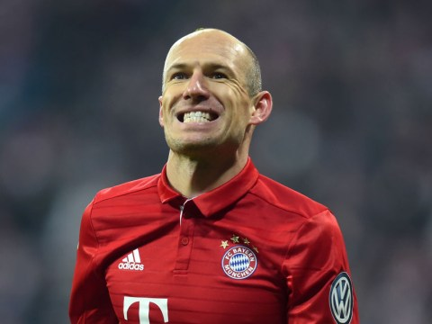 Bayern Munich star Arjen Robben admits he's bored of playing Arsenal