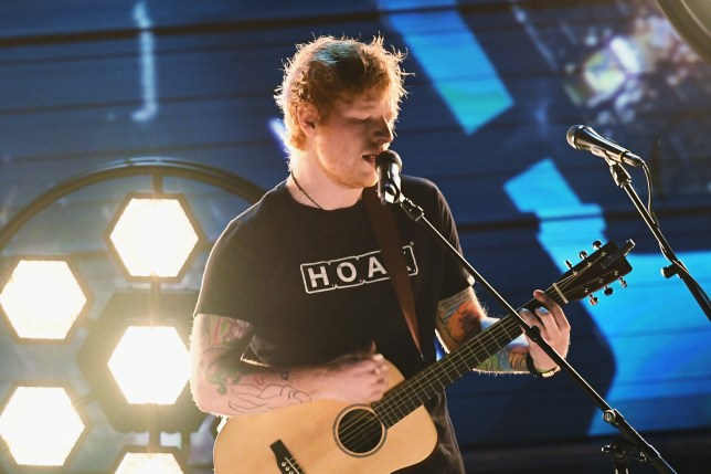 Ed Sheeran's Shape Of You is very close to overtaking a prior record set by Bryan Adams (Picture: Kevin Winter/Getty Images for NARAS)